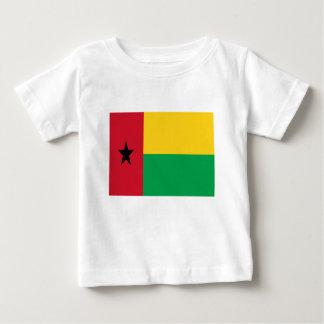 Camiseta Para Bebê Baixo custo! Bandeira de Guiné-Bissau
