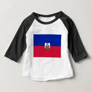 Camiseta Para Bebê Baixo custo! Bandeira de Haiti
