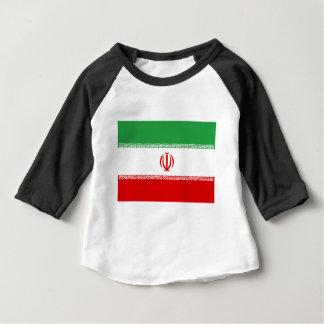 Camiseta Para Bebê Baixo custo! Bandeira de Irã
