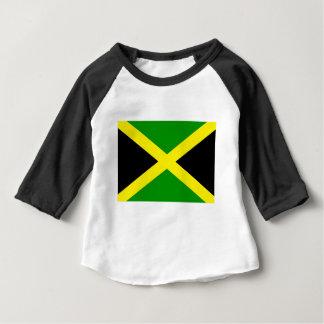 Camiseta Para Bebê Baixo custo! Bandeira de Jamaica