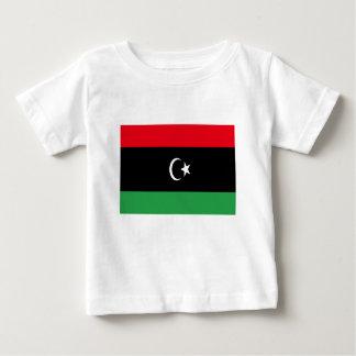 Camiseta Para Bebê Baixo custo! Bandeira de Líbia