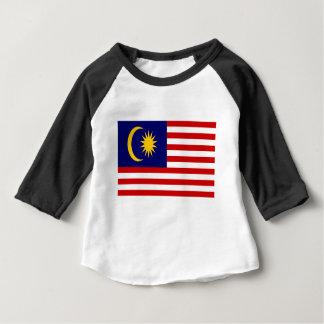 Camiseta Para Bebê Baixo custo! Bandeira de Malaysia