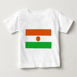 Camiseta Para Bebê Baixo custo! Bandeira de Niger