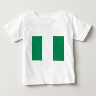 Camiseta Para Bebê Baixo custo! Bandeira de Nigéria