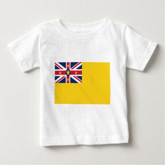 Camiseta Para Bebê Baixo custo! Bandeira de Niue