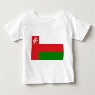 Camiseta Para Bebê Baixo custo! Bandeira de Oman