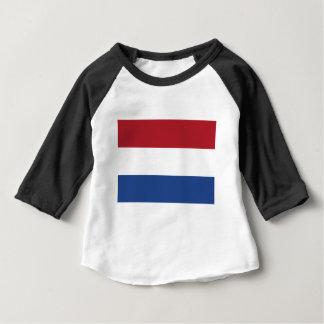 Camiseta Para Bebê Baixo custo! Bandeira holandesa