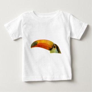 Camiseta Para Bebê Baixo Toucan poli