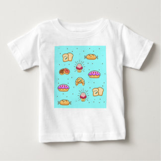 Camiseta Para Bebê BAKEDbymOKi