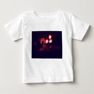 Camiseta Para Bebê Balão e sargeta vermelhos