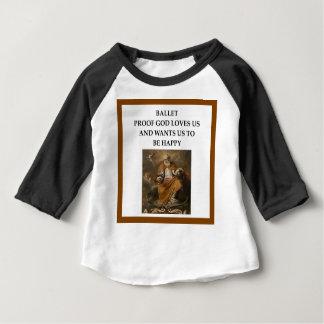 Camiseta Para Bebê balé