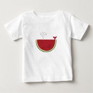 Camiseta Para Bebê Baleia de Thristy
