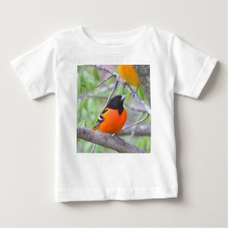 Camiseta Para Bebê Baltimore Oriole