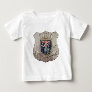 Camiseta Para Bebê Bamberga Polizei