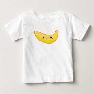 Camiseta Para Bebê Banana de Kawaii