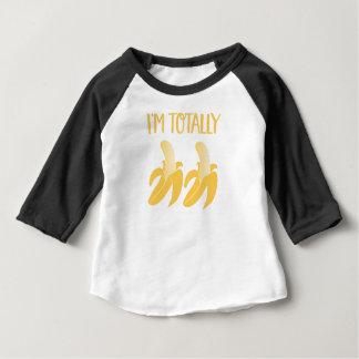 Camiseta Para Bebê bananas