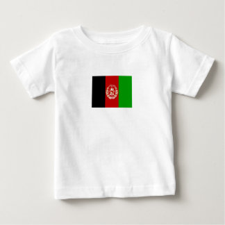 Camiseta Para Bebê Bandeira afegã patriótica