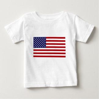 Camiseta Para Bebê Bandeira americana - bandeira dos Estados Unidos -