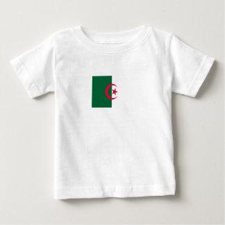 Camiseta Para Bebê Bandeira argelino patriótica