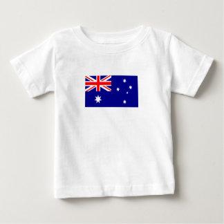 Camiseta Para Bebê Bandeira australiana patriótica