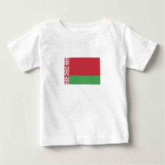 Camiseta Para Bebê Bandeira bielorrussa patriótica