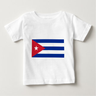Camiseta Para Bebê Bandeira cubana - bandera Cubana - bandeira de