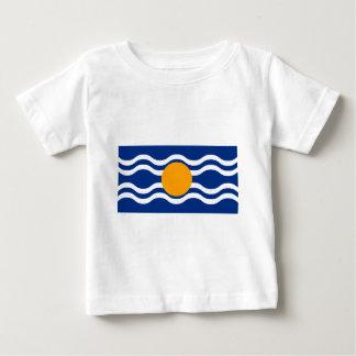 Camiseta Para Bebê Bandeira da federação das Índias Ocidentais