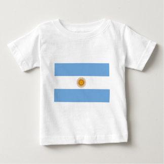 Camiseta Para Bebê Bandeira de Argentina - bandera de Argentina
