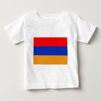 Camiseta Para Bebê Bandeira de Arménia