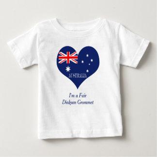 Camiseta Para Bebê Bandeira de Austrália
