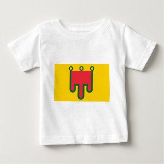 Camiseta Para Bebê Bandeira de Auvergne - Drapeau de la Région