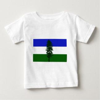Camiseta Para Bebê Bandeira de Cascadia