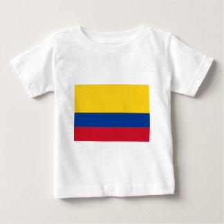 Camiseta Para Bebê Bandeira de Colômbia - bandera de Colômbia