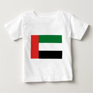 Camiseta Para Bebê Bandeira de Emiradosarabes