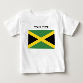 Camiseta Para Bebê Bandeira de Jamaica