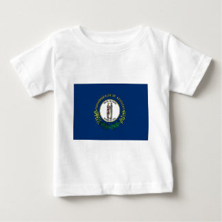 Camiseta Para Bebê Bandeira de Kentucky