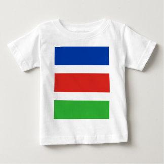 Camiseta Para Bebê Bandeira de Laarbeek