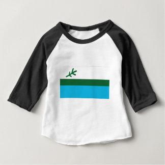 Camiseta Para Bebê Bandeira de Labrador