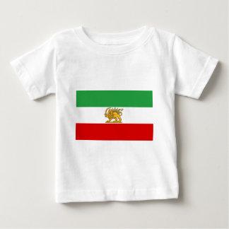 Camiseta Para Bebê Bandeira de Persia/Irã (1964-1980)