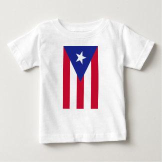 Camiseta Para Bebê Bandeira de Puerto Rico - bandera de Puerto Rico
