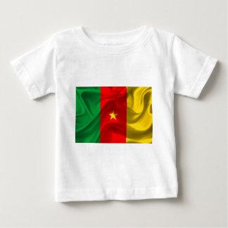 Camiseta Para Bebê Bandeira de República dos Camarões