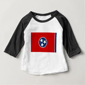 Camiseta Para Bebê Bandeira de Tennessee