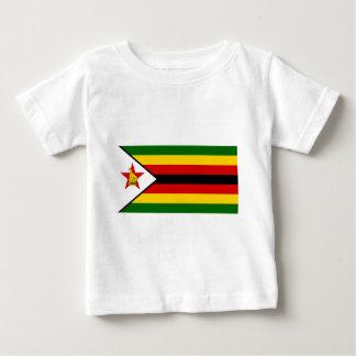 Camiseta Para Bebê Bandeira do weZimbabwe de Zimbabwe - de