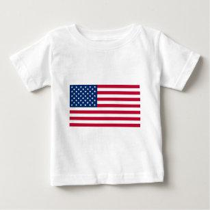 988caa2905 Tops   Camisetas Bandeiras Estados Unidos para Bebês