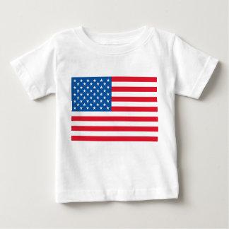Camiseta Para Bebê Bandeira dos Estados Unidos da bandeira dos EUA