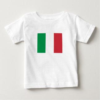 Camiseta Para Bebê Bandeira italiana patriótica