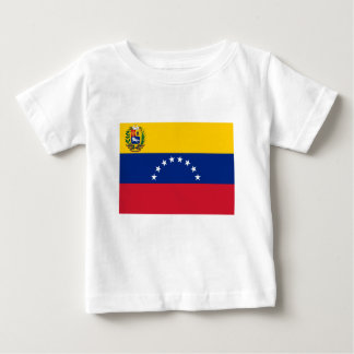 Camiseta Para Bebê Bandeira venezuelana - bandeira de Venezuela -