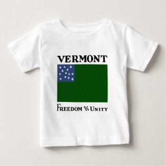 Camiseta Para Bebê Bandeira verde dos meninos da montanha da