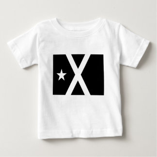 Camiseta Para Bebê Bandera Negra - bandeira de Estelada Catalunya