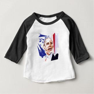 Camiseta Para Bebê Barack Obama